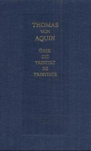 Cover of: Expositio super librum Boethii De Trinitate