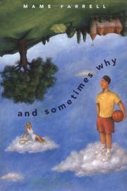 Cover of: And sometimes why | Mame Farrell