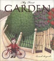 Cover of: My first garden