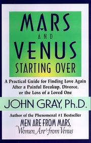 Cover of: Mars and Venus starting over