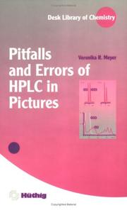 Cover of: Pitfalls and errors of HPLC in pictures