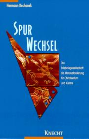Cover of: Spurwechsel