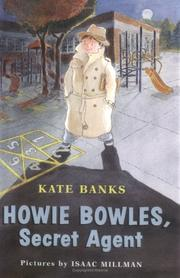 Cover of: Howie Bowles, secret agent