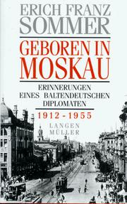 Cover of: Geboren in Moskau