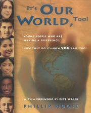 Cover of: It's Our World, Too!