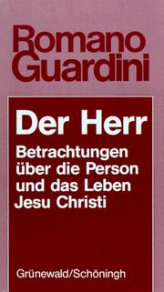 Cover of: Der Herr