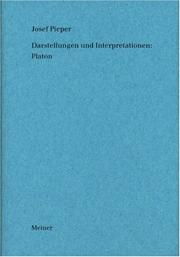 Cover of: Darstellungen und Interpretationen