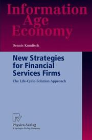 New Strategies for Financial Services Firms