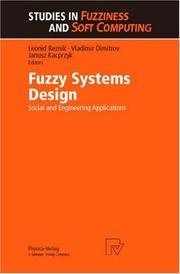Cover of: Fuzzy systems design