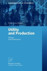 Utility and production by Pablo Coto-Millán