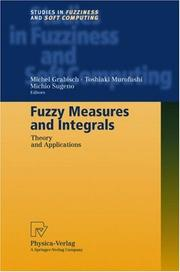 Cover of: Fuzzy Measures and Integrals |