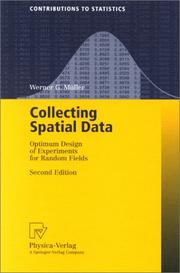 Cover of: Collecting spatial data