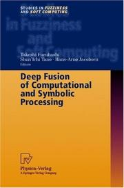 Cover of: Deep Fusion of Computational and Symbolic Processing |