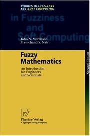 Cover of: Fuzzy mathematics