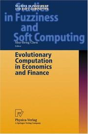 Cover of: Evolutionary Computation in Economics and Finance | Shu-Heng Chen