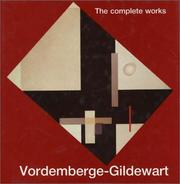 Cover of: Vordemberge-Gildewart