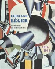 Cover of: Fernand Léger, 1911-1924