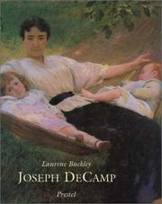 Cover of: Joseph Decamp | Laurene Buckley