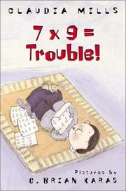Cover of: 7 x 9 = trouble!