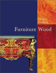 Cover of: Furniture Woods (Art & Design)