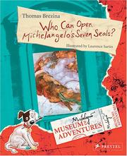 Cover of: Who Can Open Michelangelo's Seven Seals? (Museum of Adventures)