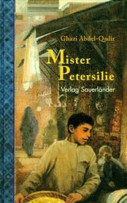 Cover of: Mister Petersilie