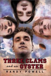 Cover of: Three clams and an oyster