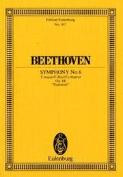 "Cover of: Symphony No. 6 in F Major, Op. 68 ""Pastorale"""