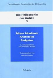 Cover of: Die Philosophie der Antike