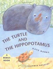 Cover of: The turtle and the hippopotamus