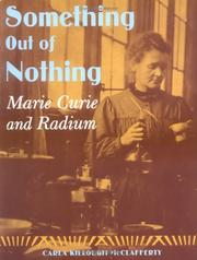 Cover of: Something Out of Nothing