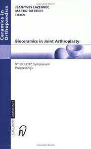 Cover of: Bioceramics in Joint Arthroplasty |