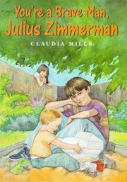 Cover of: You're a brave man, Julius Zimmerman
