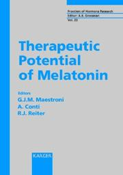 Cover of: Therapeutic potential of melatonin |