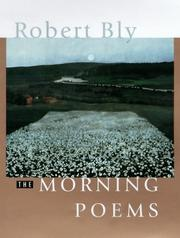 Cover of: Morning poems