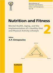Nutrition And Fitness Mental Health, Aging, And the Implementation of a Healthy Diet And Physical Activity Lifestyle