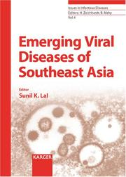 Cover of: Emerging Viral Diseases of Southeast Asia (Issues in Infectious Diseases, V. 4) | Sunil K. Lal