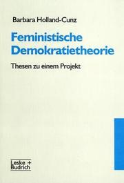 Cover of: Feministische Demokratietheorie