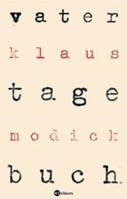 Cover of: Vatertagebuch