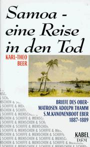 Cover of: Samoa-- eine Reise in den Tod