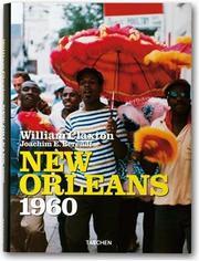 Cover of: New Orleans 1960