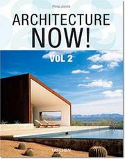 Cover of: Architecture Now! Vol 2 | Philip Jodidio