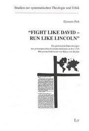 "Cover of: ""Fight like David, run like Lincoln"""