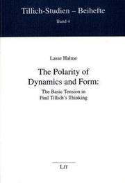 Cover of: The Polarity of Dynamics and Form | Lasse Halme