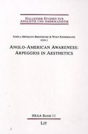 Cover of: Anglo-American Awareness |