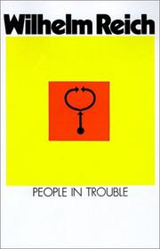 Cover of: People In Trouble (Emotional Plague of Mankind)