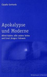 Cover of: Apokalypse und Moderne