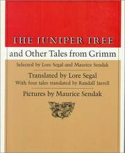 Cover of: The juniper tree, and other tales from Grimm