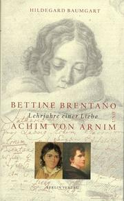Cover of: Bettine Brentano und Achim von Arnim