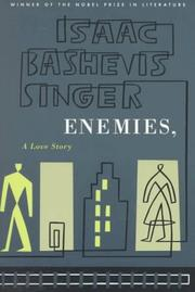 Cover of: Enemies, A Love Story | Isaac Bashevis Singer
